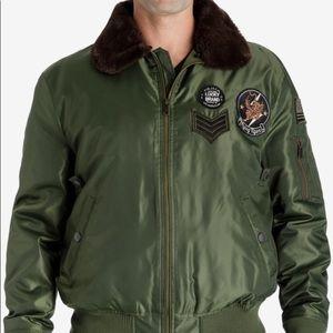 Lucky Brand Aviator Bomber Jacket